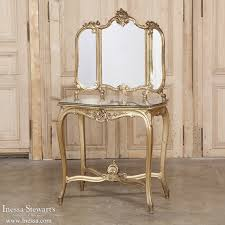 Antique Bedroom Vanity 19th Century Italian Rococo Giltwood Vanity Inessa Stewart U0027s