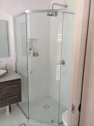 semi frameless shower screens shower screens u0026 modern glass
