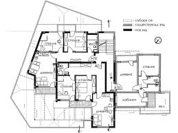 3d house plan with a terraces design