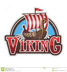 viking ship sport logo stock illustration image 57150693