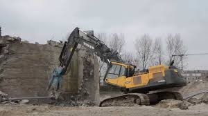 big d volvo volvo ec 480d hr demolition excavator with big dehaco