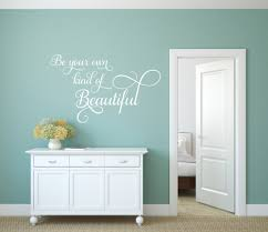 beautiful wall decal be your own kind beautiful wall decal