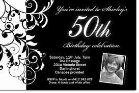 black and white invitations cu838 black and white birthday invitation with photo mens