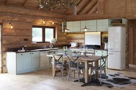 solid country kitchen with smeg retro style appliances