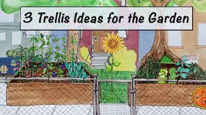 3 trellis ideas for the garden mobile minute youtube