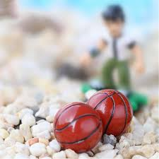 sale micro landscape diy crafts artificial basketball home