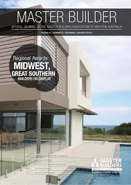 2014 master builders western australia magazine dec jan by ark