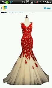 dress red dress prom prom dress mermaid prom dress ivory