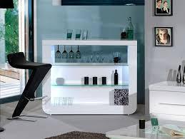 Contemporary Bar Cabinet Sciae Floyd Modern High Gloss White Drinks Cabinet Bar Care