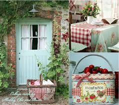 Cherry Kitchen Curtains by I Like The Gingham On Floral Vintage Stitchery And Linens