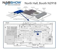 nab floor plan visit dejero at nab show 2016