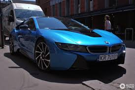 Bmw I8 Blue - bmw i8 20 june 2017 autogespot