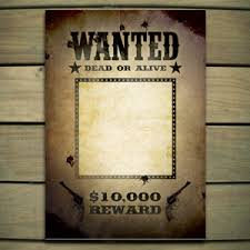 lone ranger wanted poster template word making it a part ay