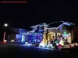 christmas house christmas lights projection on musical househome