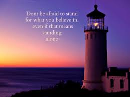 lighthouses stand believe special lighthouses sunset water quotes