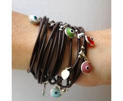 eye charm bracelet images Multi evil eye charm bracelet jpg