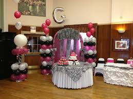 Sweet 16 Party Centerpieces For Tables by Quinceanera Zebra U0026 Pink Decoration Ideas Seshalyn U0027s Party