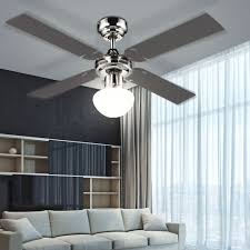 pale soffitto con luce chion 0330s ventilatore da soffitto con luce grafite acero