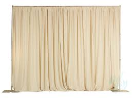 pipe and drape 8ft high ivory pipe and drape per linear foot party