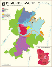 Italian Map Piemonte Vineyard Map Wine Wine Pinterest Wine