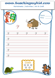 english worksheets match animal with first letter of name 5