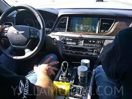2015 Hyundai Genesis Interior Navigation Issue