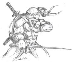 sketch please teenage mutant ninja turtles