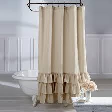Ruffle Shower Curtain Anthropologie Curtain Light Pink Ruffle Shower Curtain Grey Ruffle Shower