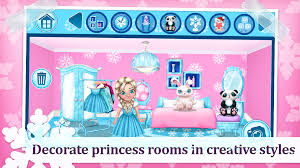princess home decoration games ice princess doll house games android apps on google play