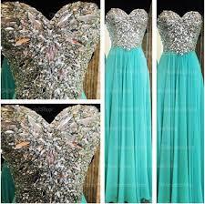 tiffany prom dress blue prom dress rhinestone prom dress long