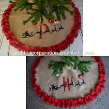 personalized tree skirt christmas tree skirts wholesale christmas suppliers alibaba