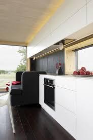 kitchen futuristic kitchen design with black white color kitchen