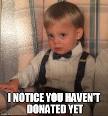 Donation Meme - uncategorized the banker games
