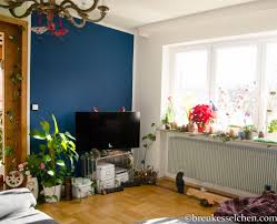 Wohnzimmer Design 2015 Wand In Petrolfarbe Neuer Anstrich Im Wohnzimmer Breukesselchen