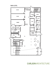 church building plan with lobby church offices and christian