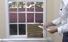 Installing Window Blinds Outside Mount How To Install Cellular Shades At The Home Depot