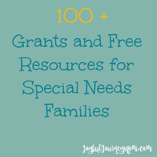 ultimate list of grants and resources for families with special