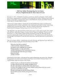 press release east dallas thanksgiving service unites community 1