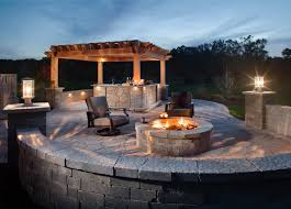 Belgard Fire Pit by Hardscape Lighting Ideas Outdoor Living By Belgard