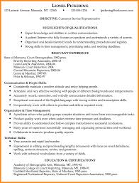 Examples Of Resumes For Customer by Sample Of Customer Service Representative Resumes Amitdhull Co