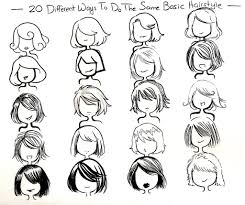 twenty ways basic hairstyle by neongenesisevarei on deviantart