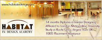 Interior Design Universities In London by Habitat In U2013design Academy Interior Designing Ravipuram