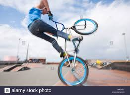 motocross bikes for sale in wales teenage boys perform aerial stunts on bmx bikes at a bmx park in