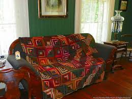 enchanting designs for log cabin quilts of square pattern bedding