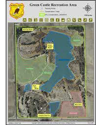 Green Lake Wisconsin Map by Green Castle Recreation Area Marshall Ia