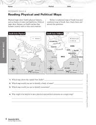 how to read a map worksheet free worksheets library download and