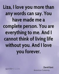 I Ve Always Loved You Quotes by David Gest Quotes Quotehd