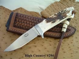 carlton handmade custom knives the high country serial