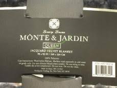 Life Comfort Blanket Costco Monte U0026 Jarden Jacquard Velvet Blanket Queen U0026 King U2013 Costcochaser