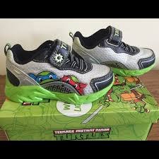 New Light Up Jordans 46 Off Nickelodeon Other New Teenage Mutant Ninja Turtles Light